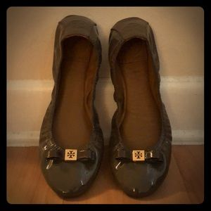 Authentic Tory Burch flexible flats